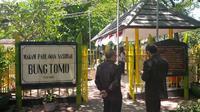 Sebagai pahlawan nasional, Bung Tomo berhak dimakamkan di Taman Makam Pahlawan (TMP). (Liputan6.com/Dian Kurniawan)