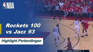 James Harden memimpin Houston ke Game 5 menang atas Utah dengan mencetak 26 poin, enam rebound dan enam assist.