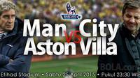 Manchester City vs Aston Villa (bola.com/samsulhadi)