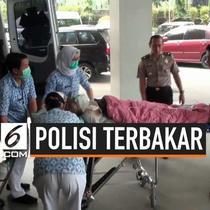 Aiptu Erwin Yuda polisi yang menderita luka bakar saat mengamankan demo di DPRD Cianjur menjalani operasi di RSPP. Aiptu Erwin menjalani operasi luka bakarnya yang mencapai 64 petsen bagian tubuhnya.