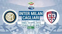 Serie A_Inter Milan Vs Cagliari (Bola.com/Adreanus Titus)