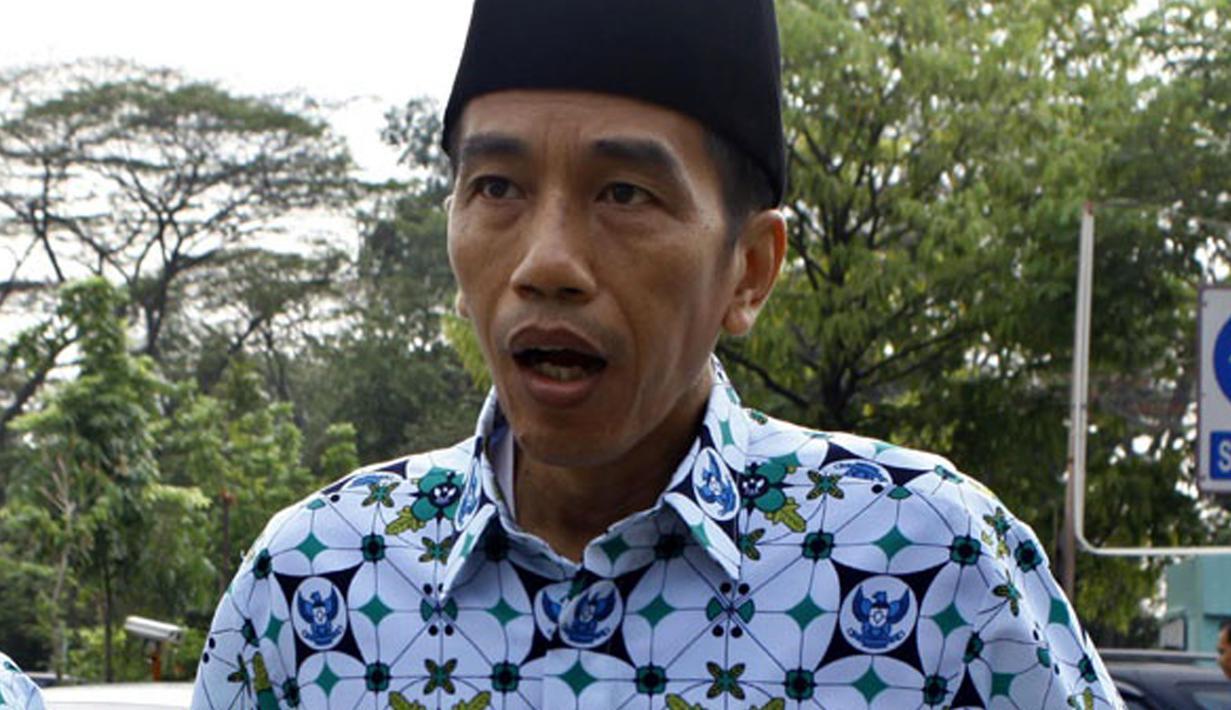 Ini Ragam Gaya Dan Ekspresi Lucu Khas Jokowi Foto Liputan6