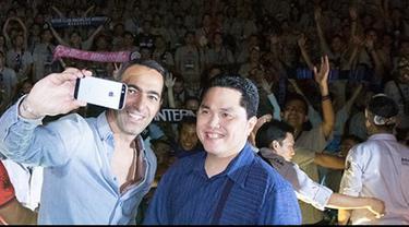 Wawancara eksklusif Erick Thohir Presiden Internazionale bersama Bola.com di Bali pekan lalu.