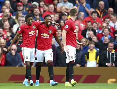 Manchester United Menang Telak Atas Chelsea di Old Trafford