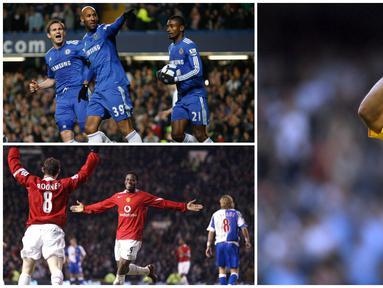 Klub di Liga Inggris menjadi salah satu tujuan utama dari sejumlah para pemain bintang asal Prancis untuk berlabuh meneruskan karier. Berikut ini tujuh pesepak bola Prancis yang jadi mesin gol di Premier League. (Kolase Foto dari AFP)