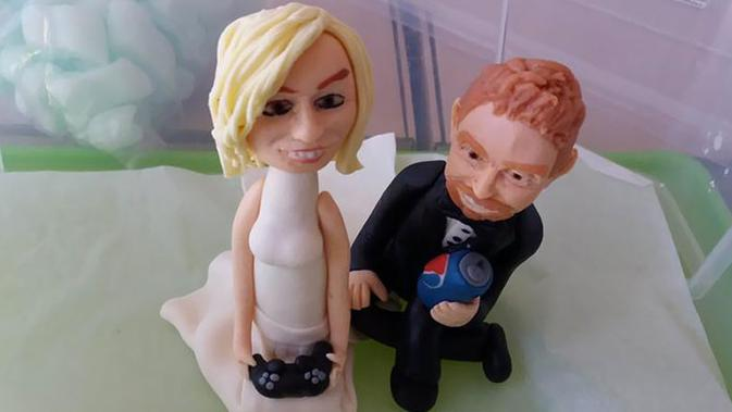 10 Potret Kue Pernikahan Gagal Tak Sesuai Harapan. Sumber: BoredPanda