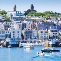 Pulau Jersey dan Guernsey. ( Fraser Hall/Getty Images)