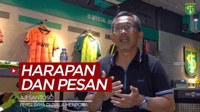 Berita video harapan Pelatih Persebaya, Aji Santoso, di Piala Menpora 2021 dan pesan pentingnya kepada Bonek.