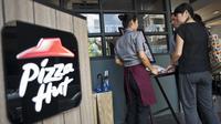 Logo Pizza Hut (AFP PHOTO / Ye Aung Thu)