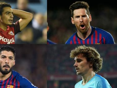 Top Scorer La Liga pekan ke-29