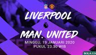Premier League - Liverpool Vs Manchester United (Bola.com/Adreanus Titus)