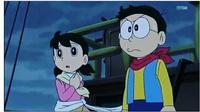 Shizuka dan Nobita (Sumber: Instagram/doraemon.indonesia.id)