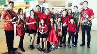 Cara Bandara Pekanbaru merayakan Imlek (Liputan6.com / M.Syukur)