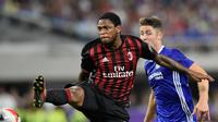 Striker AC Milan asal Brasil Luiz Adriano. Adriano bakal segera dilepas. ( Hannah Foslien / GETTY IMAGES NORTH AMERICA / AFP )