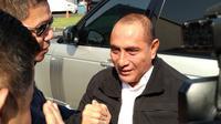 Pasangan calon Gubernur dan Wakil Gubernur Sumatera Utara Nomor urut 1, Letjen TNI Purn Edy Rahmayadi dan Musa Rajekshah mendatangi kediaman Ketua Umum Partai Demokrat Susilo Bambang Yudhoyono (SBY)