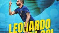 Berita Infografis - Man of The Match: Leonardo Bonucci (Bola.com/Adreanus Titus)