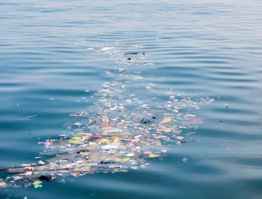 Sampah Kiriman di Perairan Kepulauan Seribu
