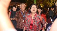 Menteri Keuangan Sri Mulyani Indrawati dinobatkan sebagai Menteri Keuangan terbaik Tahun 2018. (Agus Tri H/Biro KLI Kemenkeu).