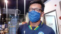 Direktur Persib Bandung, Teddy Tjahjono, memastikan Maung Bandung bakal menggelar latihan perdana pada Senin (10/8/2020). (Bola.com/Erwin Snaz)