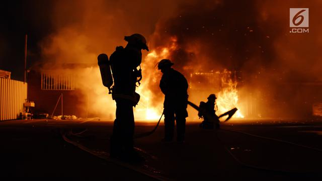 Ilustrasi Kebakaran