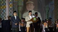 Gubernur Banten, Wahidin Halim (WH) sangat mengapresiasi suksesnya acara MTQ Ke-XVI tingkat Provinsi Banten 2019 yang sudah dilakukan oleh Pemkot Tangerang sebagai penyelenggara.