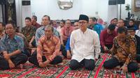 Ketua MPR Zulkifli Hasan menggelar pengajian bersama Ikatan Silaturrahmi Alumni Salman ITB di Rumah Dinas Ketua MPR Widya Chandra.