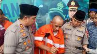 Residivis pembobolan rumah di Kota Malang ditangkap sekaligus ditahan keenam kalinya oleh Polres Malang Kota (Liputan6.com/Zainul Arifin)