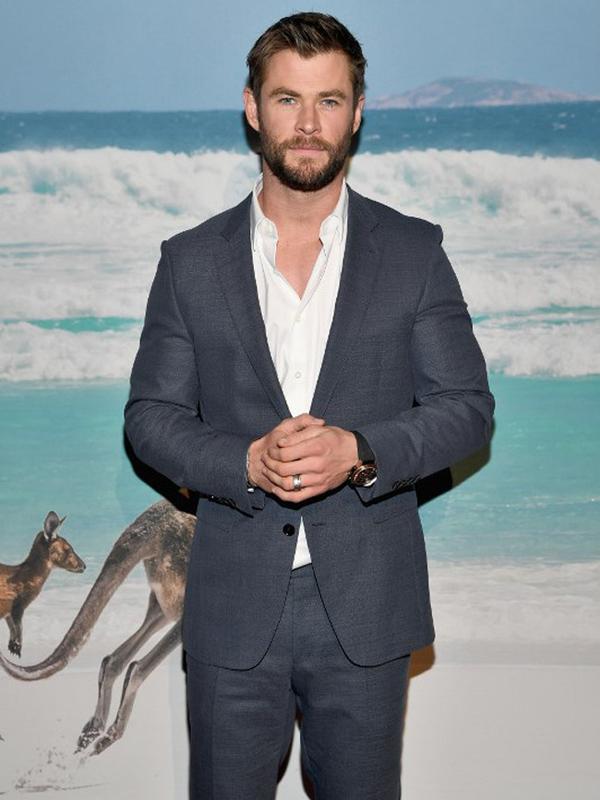 Chris Hemsworth. (AFP/DIMITRIOS KAMBOURIS)