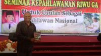Riwu Ga diusulkan jadi pahlawan nasional (Liputan6.com / Ola Keda)