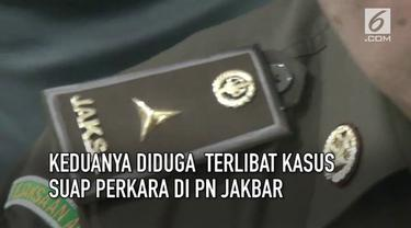 Kejaksaan Agung akan menyelidiki dan memproses hukum 2 jaksa hasil OTT KPK. Keduanya diduga terlibat kasus suap di pengandilan neheri Jakarta Barat.