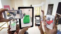 Augmented Reality Furnitur mudahkan Anda mendekorasi ruangan memulai