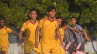 Pemain Sriwijaya FC. (Bola.com/Vincentius Atmaja)