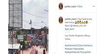 Angkot Isuzu Panther Terobos Banjir Tanpa Masalah (Instagram)