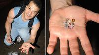Raffi Stepanian, bekerja sebagai penambang logam mulia di jalanan New York. Berhasil meraup hingga belasan juta per minggu.