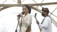 Jazz Gunung Hybrid Concert 2020 sukses digelar di Taman Gandrung Terakota – Jiwa Jawa Resort, Banyuwangi, Sabtu (12/12/2020).