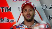 Pebalap Ducati asal Italia, Andrea Dovizioso. (AFP/Pierre-Philippe Marcou)