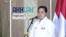 Menteri Erick Thohir ceritakan beragam langkah yang telah ditempuh untuk proses tranformasi di BUMN kepada Presiden Joko Widodo. Hal ini disampakain di acara pengarahan Presiden RI kepada Para Direktur Utama BUMN.