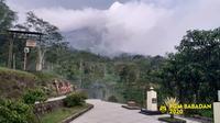 Kondisi gunung Merapi pada Rabu 11 November 2020. (BPPTKG @BPPTKG)