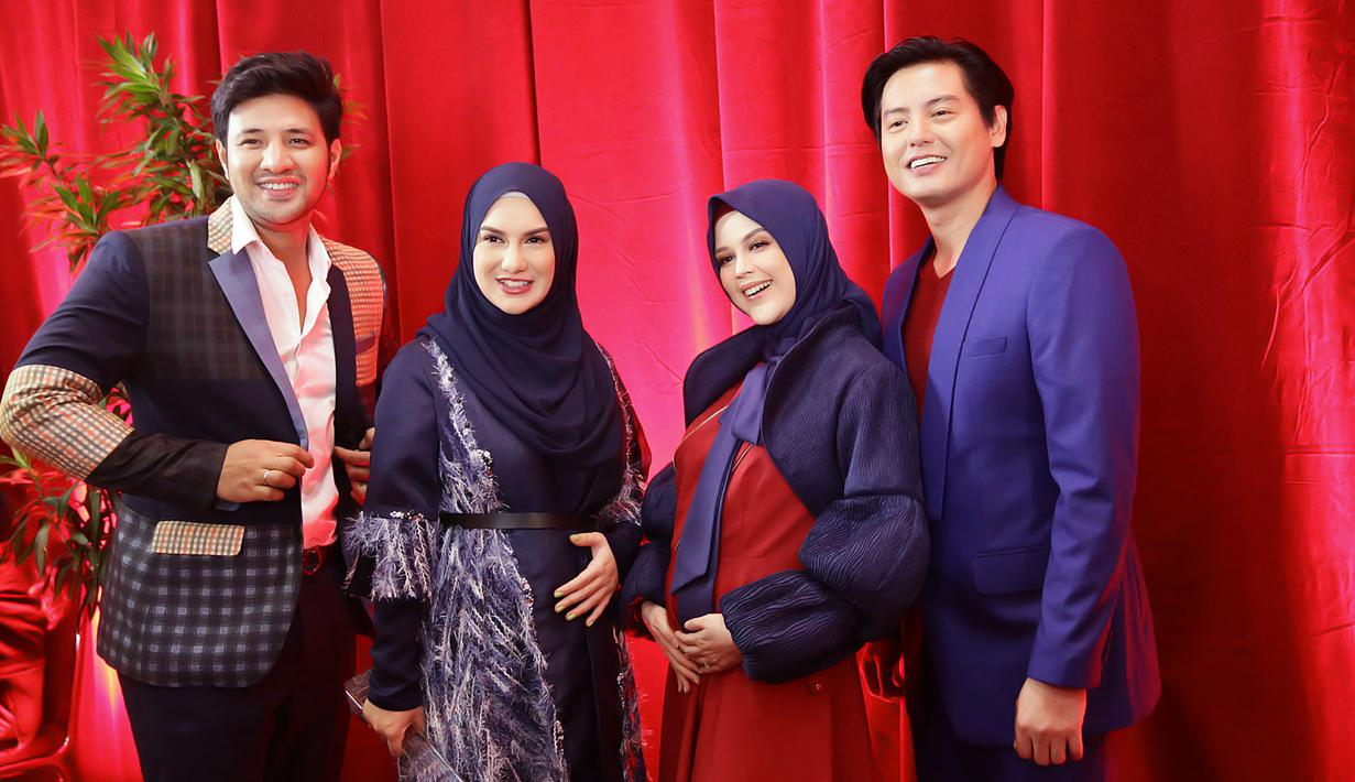 Pasangan Selebriti hadir dalam acara IFA 2020, Selasa (17/3/2020) malam. (Bambang E Ros/Fimela.com)