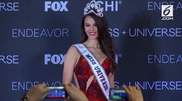 Catriona Gray terpilih menjadi Miss Universe 2018. Setelah teprilih ia akan fokus pada penyebaran informasi tentang HIV/AIDS.
