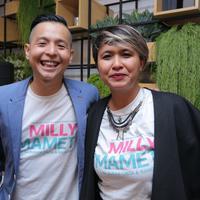 Masih ingat dengan Milly dan Mamet di film 'Ada Apa dengan Cinta (AADC)?'? Kini kedua karakter tersebut diangkat menjadi sebuah film solo yang bertajuk 'Milly & Mamet'. Film garapan Ernest Prakasa ini bergenre drama komedi. (Deki Prayoga/Bintang.com)