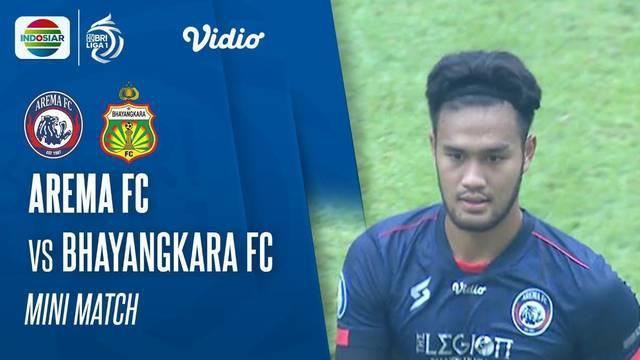 Berita video peluang penting yang terjadi pada laga pekan kedua BRI Liga 1 2021/2022 antara Arema FC melawan Bhayangkara FC, Minggu (12/9/2021) sore hari WIB.