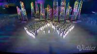 Berikut deretan tari-tarian nusantara yang memukau di pembukaan Asian Games 2018. (Foto: Liputan6.com/ meita fajriana)