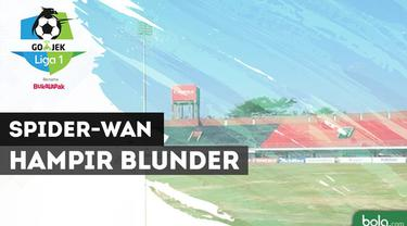Berita video kiper Bali United, Wawan Hendrawan, yang hampir melakukan blunder dan bisa saja menghasilkan gol untuk PSMS Medan dalam laga Liga 1 2018, Sabtu (24/3/2018).