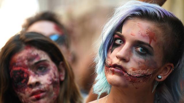 Zombie Walk di Prancis