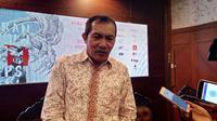 Wakil Ketua KPK Saut Situmorang menghadiri diskusi antikorupsi di Balai Kota Malang, Jawa Timur (Liputan6.com/Zainul Arifin)