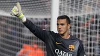 Kiper Barcelona, Jordi Masip, menilai timnya hanya kurang beruntung saat ditahan imbang 0-0 oleh Villanovense.