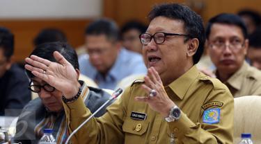 20170213- Menkumham dan Mendagri Bahas RUU Pemilu Bareng Pansus di Senayan-Johan Tallo