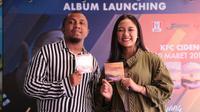 Launching Album Near feat Marion Jola (Adrian Putra/Fimela.com)