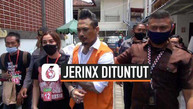 THUMBNAIL JERINX DITUNTUT